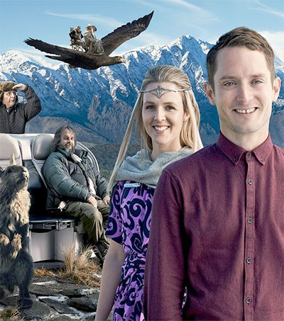 Hobbits Fit Their Safety Masks for Air NZ Safety Video