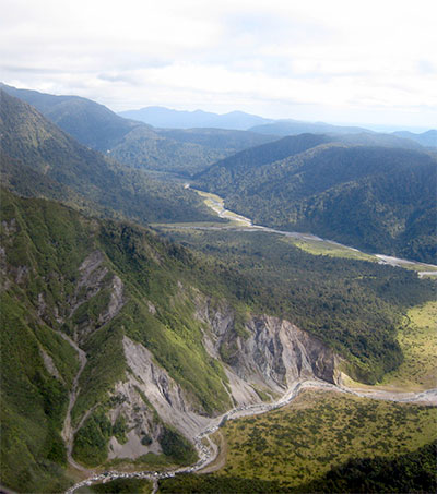 Alpine Fault Hole Revealing Secrets of Earth's Crust