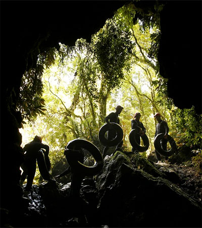 Waitomo's Subterranean World an Adventurer's Paradise