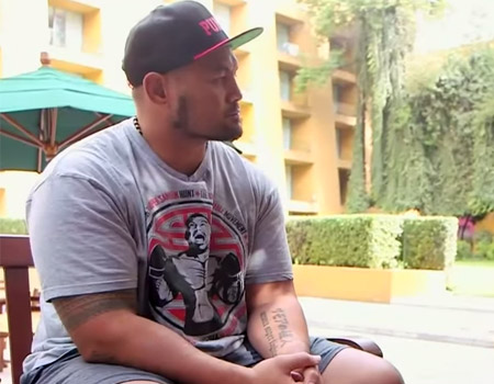 UFC 180: A Sit-Down With Mark Hunt