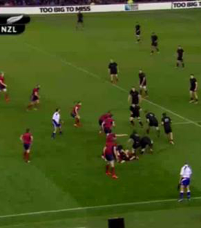 All Blacks Beat Scotland in Tough Challenge
