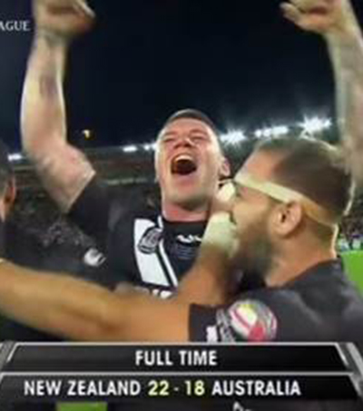Kiwis Win Four Nations Title in Wellington