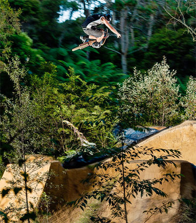 Riding a Whole New World of BMX Clay Trails at PMP