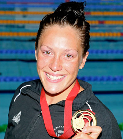 Swimming Star Sophie Pascoe Aims for More Medals in Rio