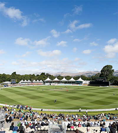 Hagley Oval Integral to Christchurch's Regeneration
