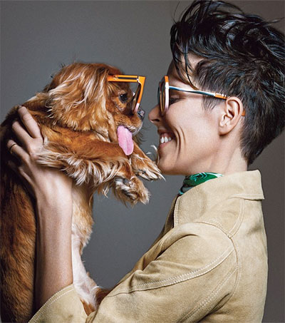 Karen Walker Taps Instagram Sensation Toast the Dog