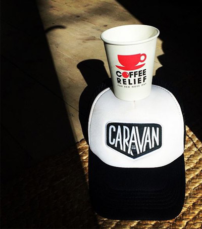 Join the Red Nosed Kiwi Coffee Caravan