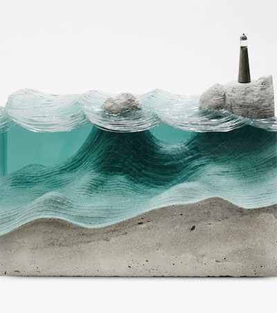 Ben Young's Glass Sculptures Making Waves