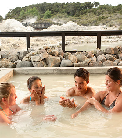 Feel the Heat in New Zealand's Healing Heartland