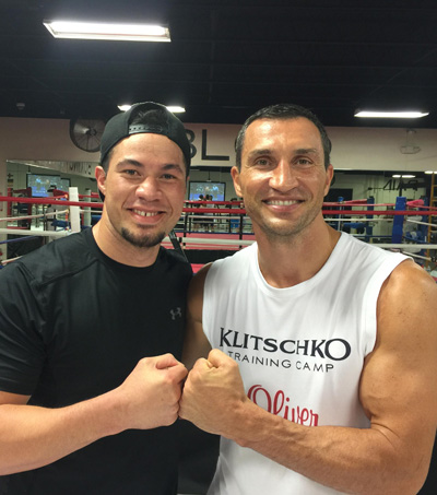 Wladimir Klitschko Getting Help from Joseph Parker