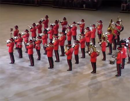 The NZ Army Band at the Musikschau der Nationen 2015
