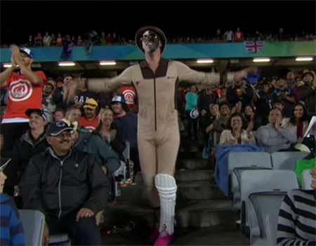 Amazing Dance at the Cricket World Cup