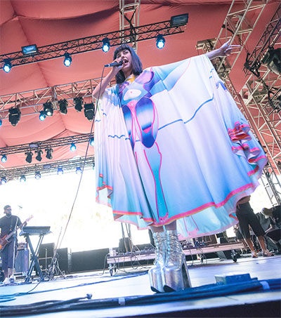 Kimbra Plays at California's Coachella