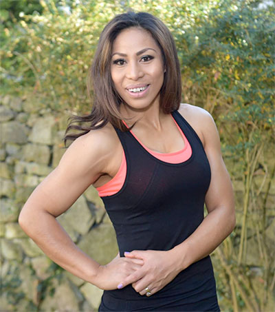 Lifestyle Coach Sene Naoupu Flexes Her Muscles in Ireland