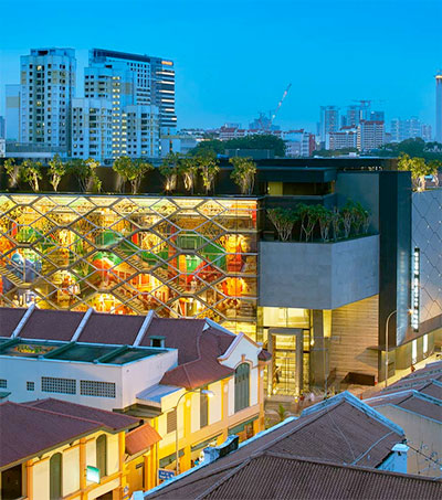 Architect Greg Shand Mixes History and Modernity in Singapore
