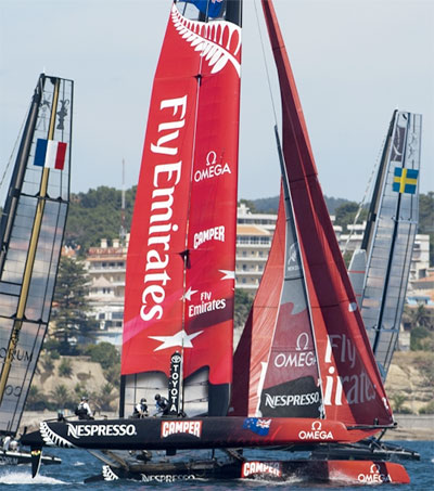 Emirates Returns as Team New Zealand's Top Sponsor