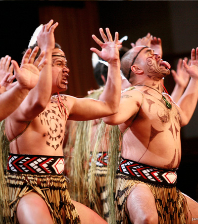Dance Connects with Locals – the New Zealand Haka