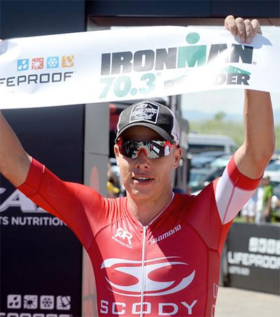 Callum Millward Wins Colorado Ironman