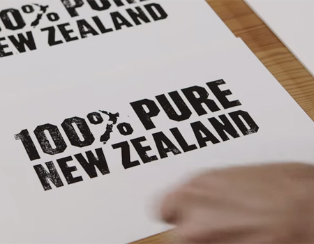 Evolving the 100% Pure New Zealand identity