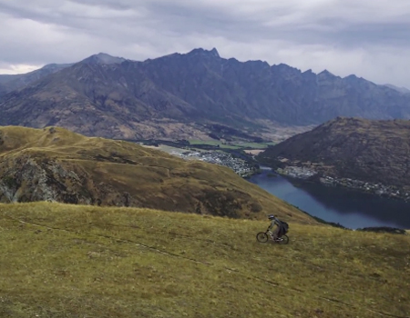 The Hobbit Heli Mountain Biking