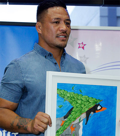 Hard as Nails Keven Mealamu Has an Arty Side