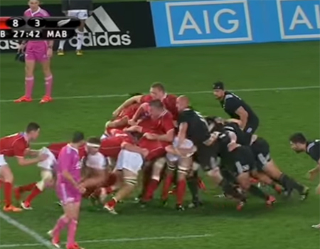 Maori All Blacks vs. NZ Barbarians – Highlights