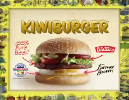 Original Kiwiburger Advert