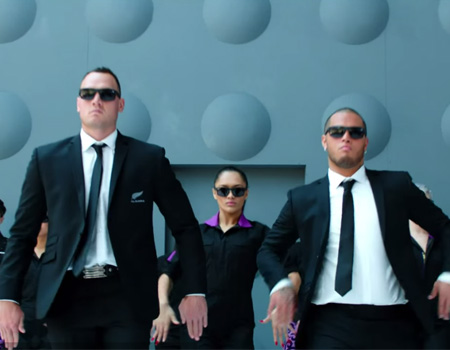 Men In Black Safety Defenders – Air New Zealand Safety Video
