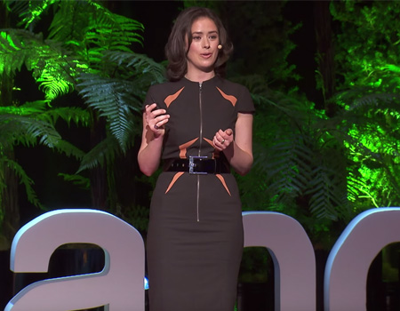 Creating a Good World One # at a Time – Dale Nirvani Pfeifer at TEDxAuckland