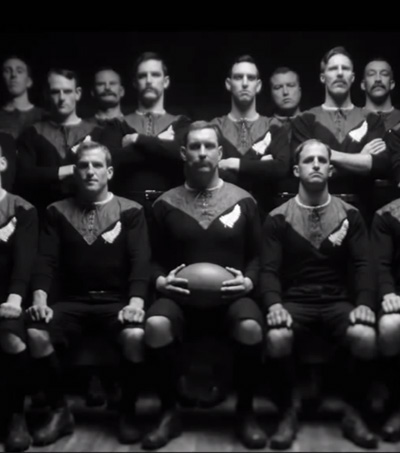 New Steinlager Rugby World Cup Ad Recreates New Zealand's First Rugby Internationals