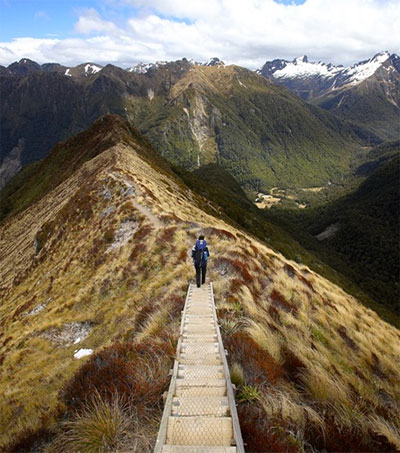 New Zealand's South Island Offers Great Walks