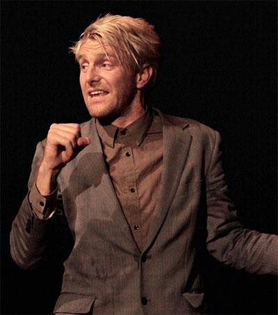 Comedy Show Nominee Trygve Wakenshaw Shines