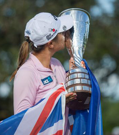 Historic Win for Lydia Ko