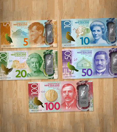 New Zealand Launches Currency Notes