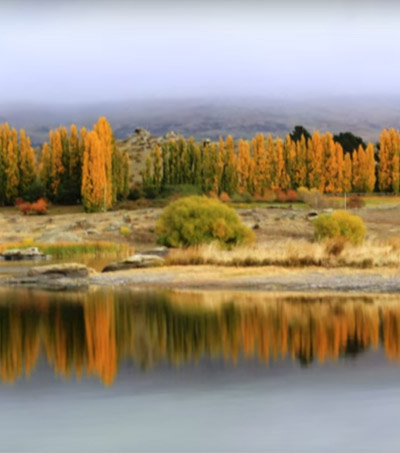 New Zealand's Otago Beautiful in Fall