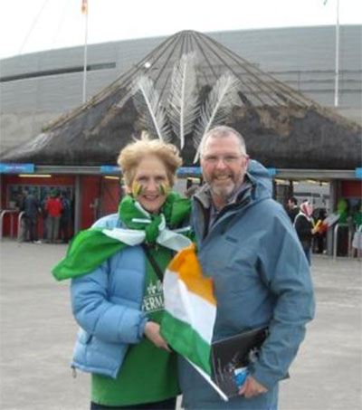 An Irish Emigrant Living Life in Two Parts