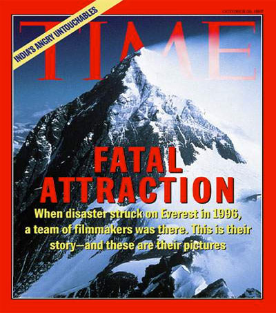 TIME Looks Back at 1997 Everest Cover Story