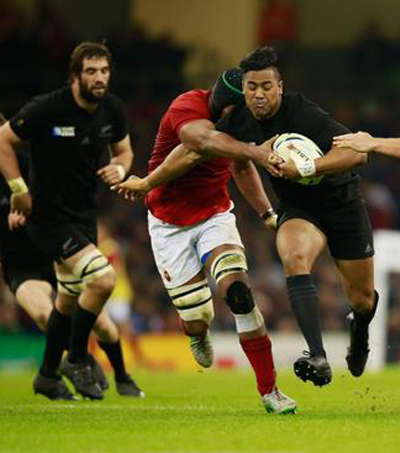 All Blacks Demolish France in RWC Quarterfinal