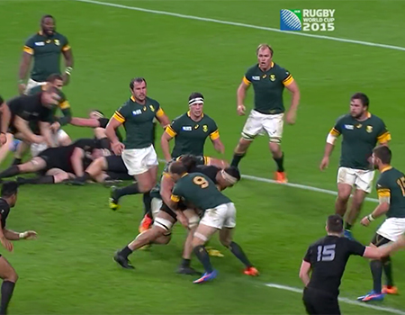 South Africa v New Zealand Highlights – RWC 2015