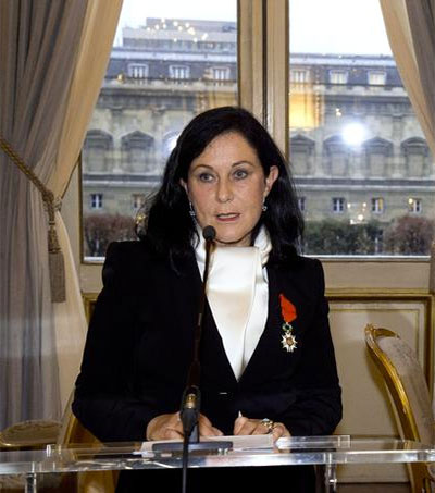 Jennifer Flay Awarded France's Legion of Honour