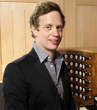 Organist Thomas Gaynor Wins Huge Prize