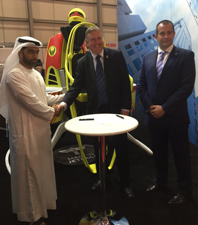 Martin Aircraft to Make Jetpacks for Dubai Firefighters