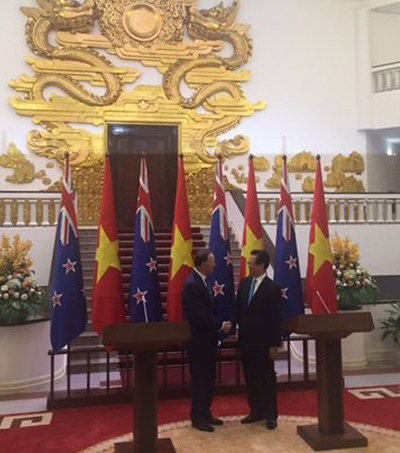 Vietnam and New Zealand Sign Cooperation Agreements