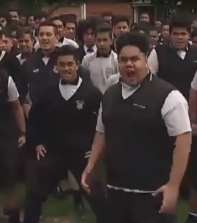 Auckland Schoolboys Perform Powerful Haka in Honour of Jonah Lomu