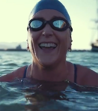 Kim Chambers, the World's Most Badass Swimmer