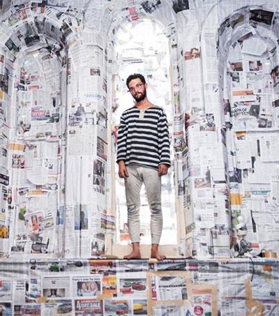 Barnie Duncan's …him a Living Thriving Piece of Art