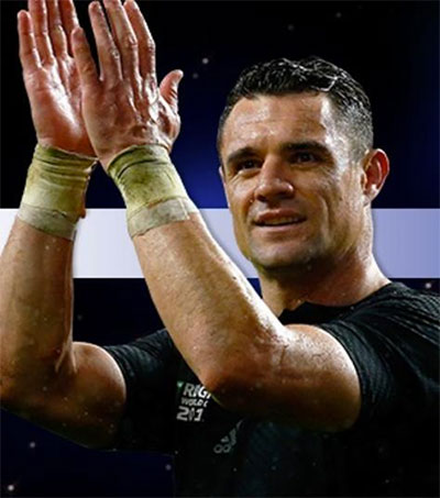 Dan Carter BBC Overseas Sports Personality of 2015