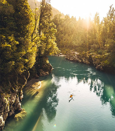 Adventurer Captures NZ's Untouched Beauty