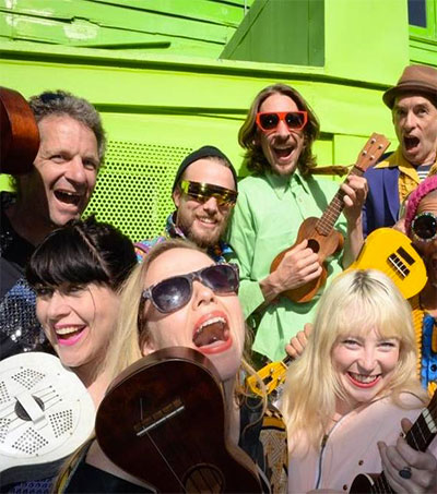 Ukulele Orchestra Strums up Fans in US