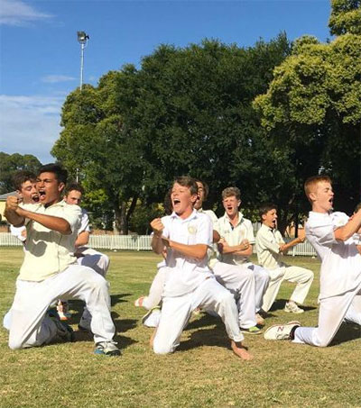 Under-15 Cricket Team Breaks with Tradition